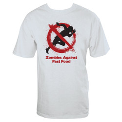 Image for Zombie T-Shirt - Zombies Against Fast Food