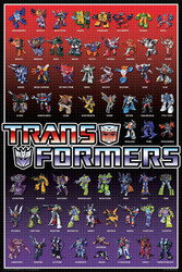 Image for Transformers Poster - Line Up