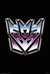 Image for Transformers Poster - Decepticon Logo