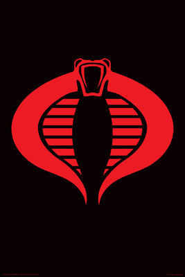 Image for G.I. Joe Poster - Cobra Logo