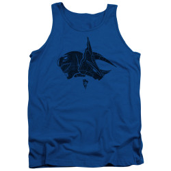 Image for Mighty Morphin Power Rangers Tank Top - Blue