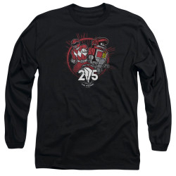 Image for Mighty Morphin Power Rangers Long Sleeve Shirt - Red 25
