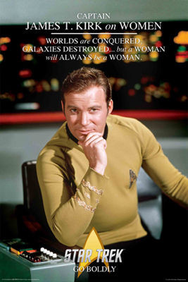 Image for Star Trek Poster - Go Boldly!
