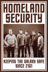 Image for Star Trek Poster - Homeland Security