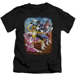 Image for Power Rangers Kids T-Shirt - Impressionist Rangers