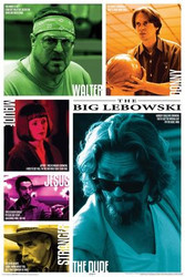Big Lebowski Poster - Quotes