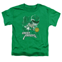 Image for Power Rangers Toddler T-Shirt - Green Ranger