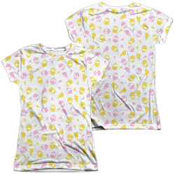 Image for Mighty Morphin Power Rangers Girls Sublimated T-Shirt - Grl Pwr