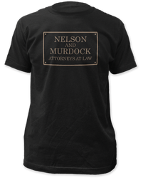 Image for Daredevil T-Shirt - Nelson and Murdock Attorneys at Law