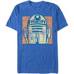 Image for Star Wars R2D2 Art Deco Heather T-Shirt
