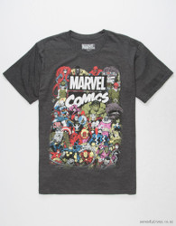 Image for Marvel T-Shirt - Big Crowd