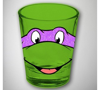 Image for Teenage Mutant Ninja Turtles Shot Glass - Donatello