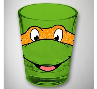 Image for Teenage Mutant Ninja Turtles Shot Glass - Michelangelo