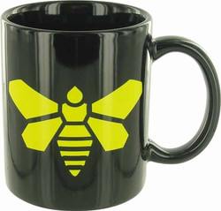 Image for Breaking Bad Coffee Mug - Yellow Moth Logo