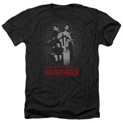 Image for Knightfall Heather T-Shirt - Brothers