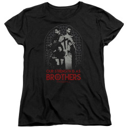 Image for Knightfall Womans T-Shirt - Brothers