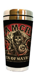 Image for Sons of Anarchy Plastic Travel Mug - SAMCRO