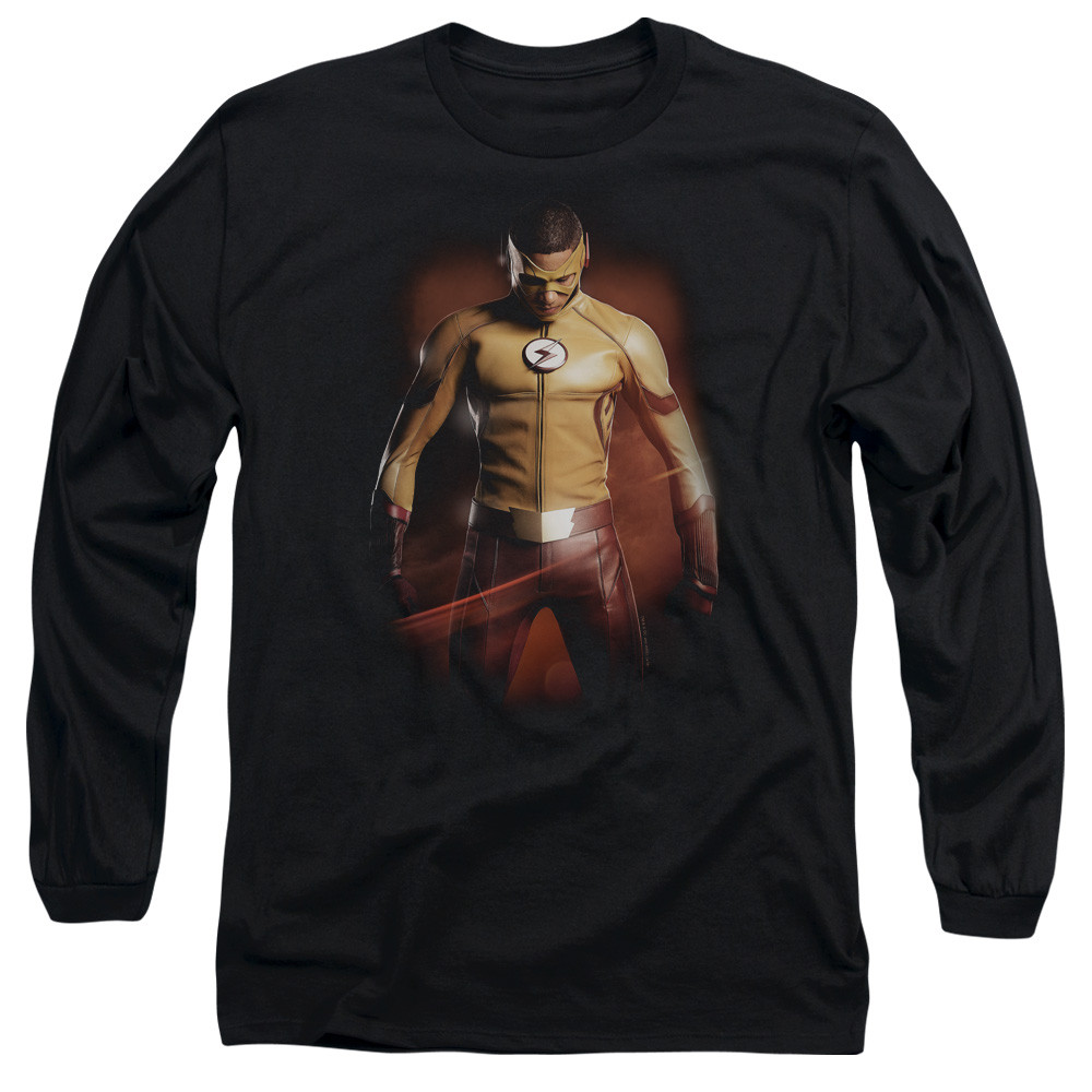 12f74c7d The Flash TV Long Sleeve T-Shirt - Kid Flash - NerdKungFu.com