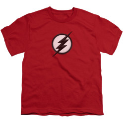 Image for The Flash TV Youth T-Shirt - Jesse Quick Logo