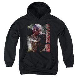 Image for Supergirl Youth Hoodie - Red Tornado