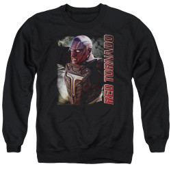 Image for Supergirl Crewneck - Red Tornado