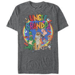 Image for Uncle Grandpa - Cast - Premium T-Shirt