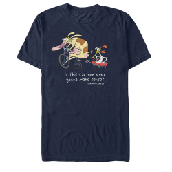 Image for Cow and Chicken Show Makes No Sense T-Shirt
