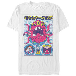 Image for Dexters Laboratory Tentacle Poster Chogrin T-Shirt