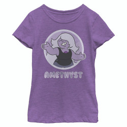 Image for Steven Universe Juniors T-Shirt - Amethyst Circle