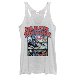 Image for Black Panther Movie Womens Tank Top - Collage