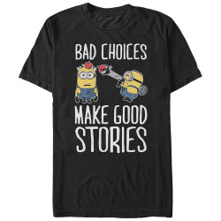 Image for Despicable Me Minions Bad Choices T-Shirt