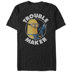 Image for Despicable Me Minions Trouble Maker T-Shirt