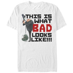 Image for Despicable Me Minions Looking Bad T-Shirt