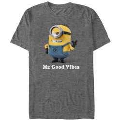 Image for Descpicable Me Good Vibes T-Shirt