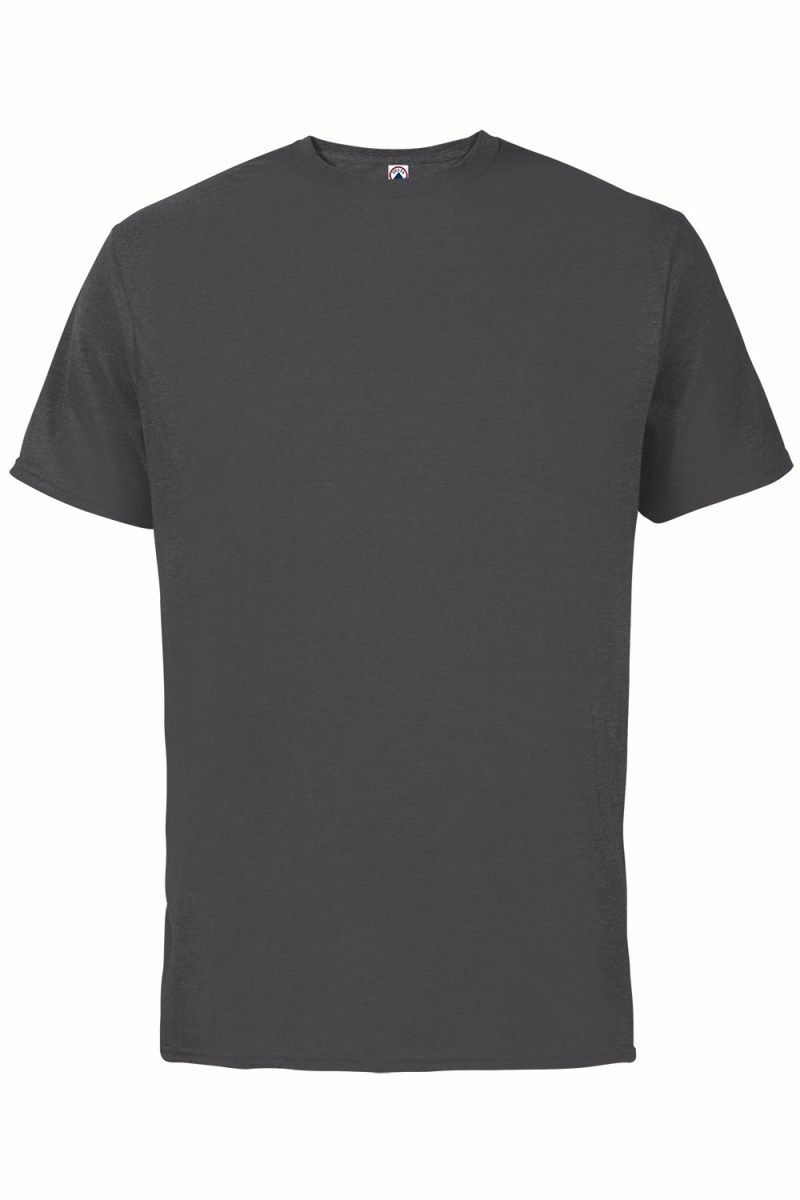 4ec90f335c69 Plain Charcoal Heather T-Shirt. Loading zoom. Hover over image to zoom