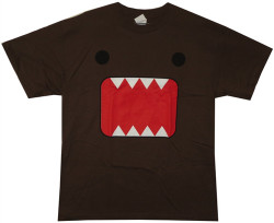 Image Closeup for Domo Face T-Shirt