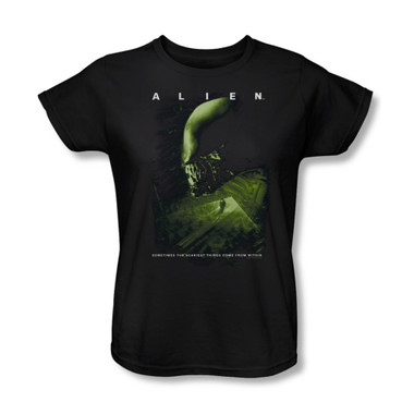Image for Alien Woman's T-Shirt - Lurking