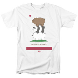 Image for We Bare Bears T-Shirt - Cali Stack