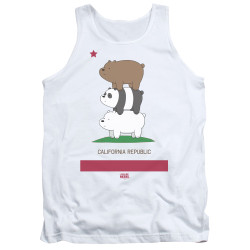 Image for We Bare Bears Tank Top - Cali Stack