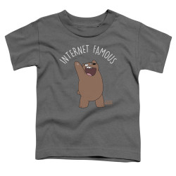 Image for We Bare Bears Toddler T-Shirt - Internet Famous