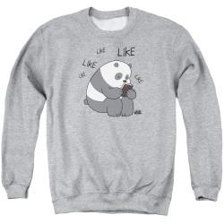Image for We Bare Bears Crewneck - Like Like Like