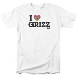Image for We Bare Bears T-Shirt - I Heart Grizz