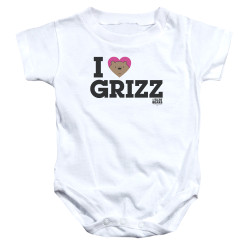 Image for We Bare Bears Baby Creeper - I Heart Grizz