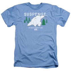 Image for We Bare Bears Heather T-Shirt - Suspense