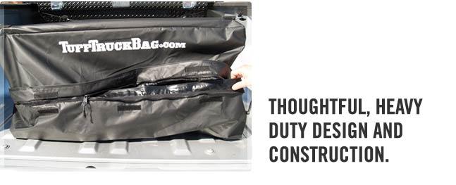Heavy duty waterproof truck bed cargo bag