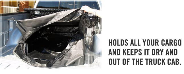 Inside of the large Tuff Truck Bag