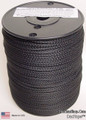 "Antenna Support Rope, 1/8"" 600', Black, Round, 100% Dacron Polyester Rope"