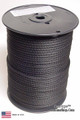"Antenna Support Rope, 3/16"" 500', Black, Round, 100% Dacron Polyester Rope"