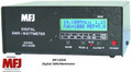 MFJ-826B DIGITAL SWR/WATTMETER, LCD DISPLAY WITH FREQUENCY COUNTER