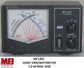 MFJ-891, Giant SWR/Wattmeter, 1.6-60 MHZ, 2KW